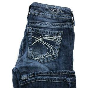 Silver Suki Bootcut Dark Wash Jeans